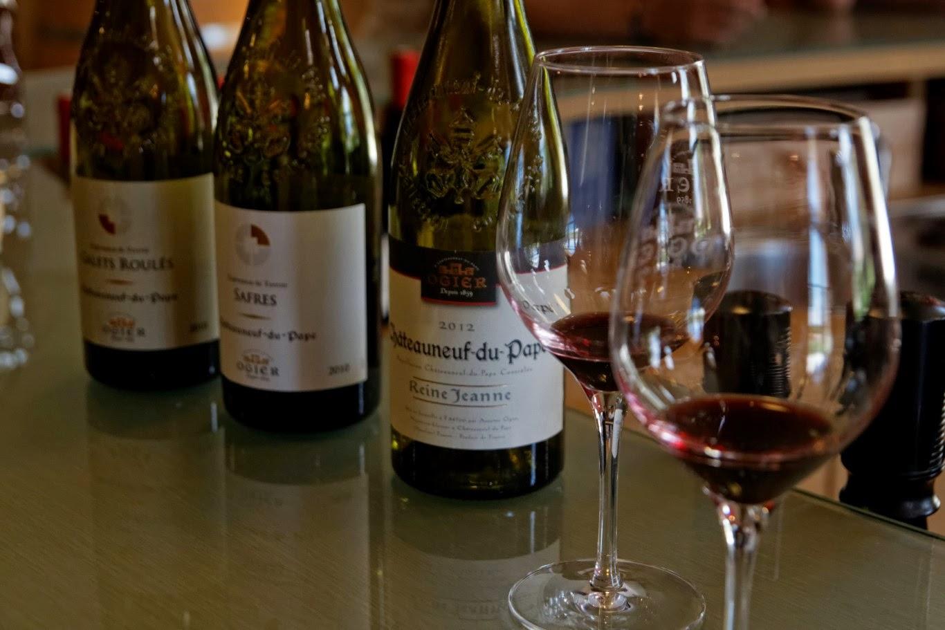 Wine tasting Chateauneuf-du-Pape